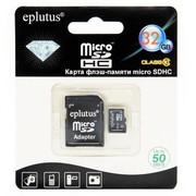 Карта памяти Eplutus micro sd 32 GB